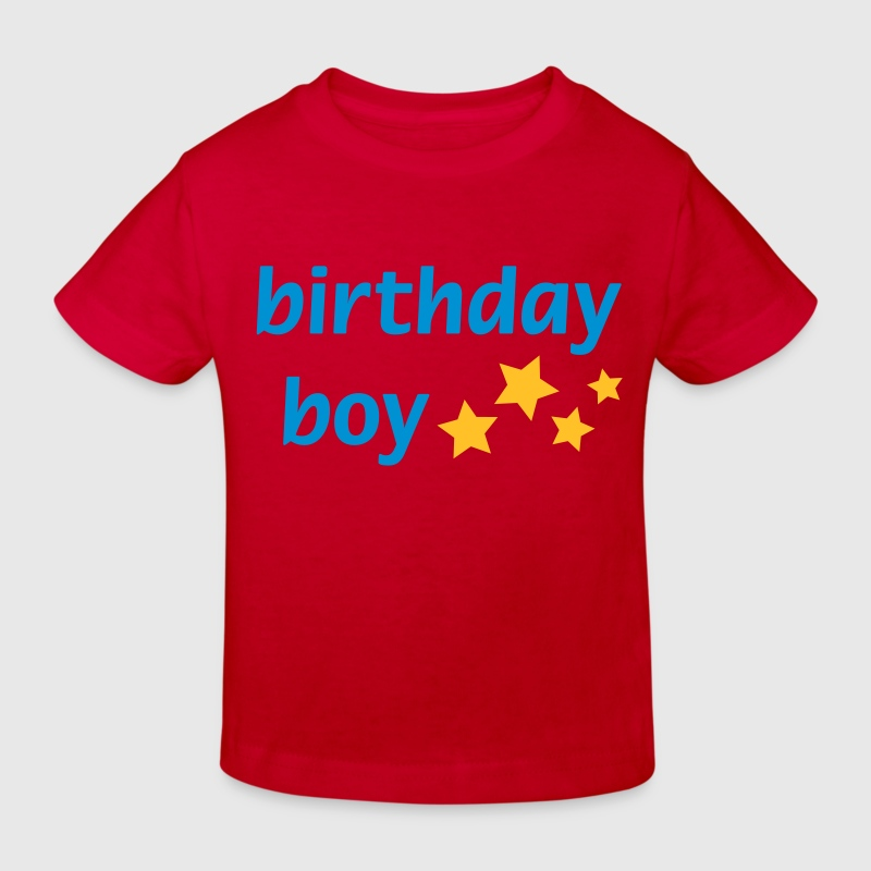 Birthday Boy - Kids' Organic T-shirt