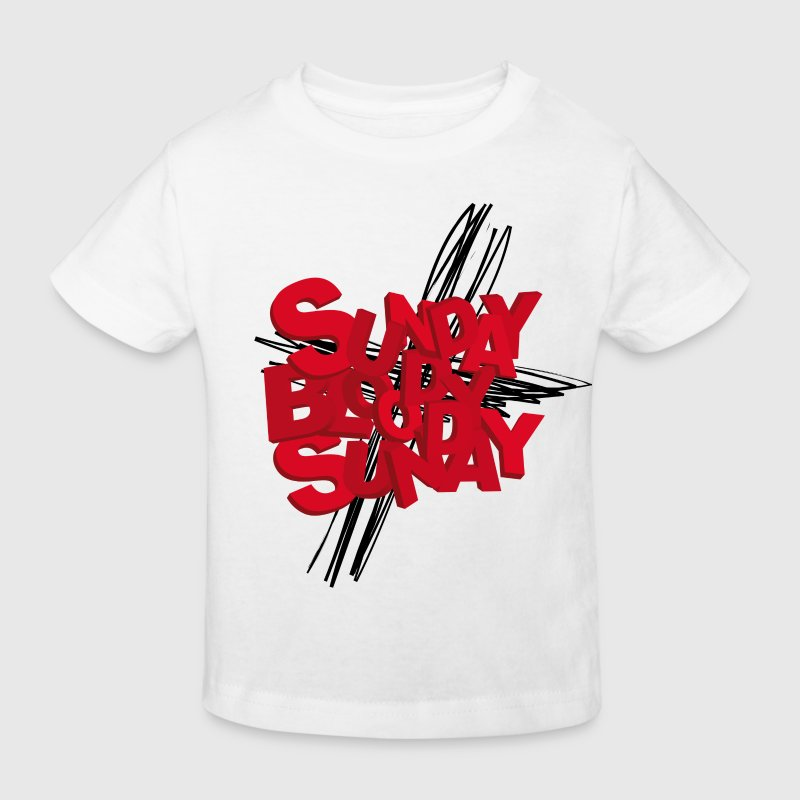 Sunday Bloody Sunday - Camiseta ecológica niño