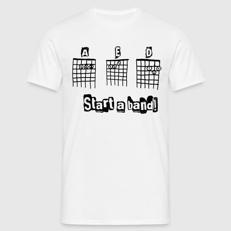 start a band - T-shirt herr