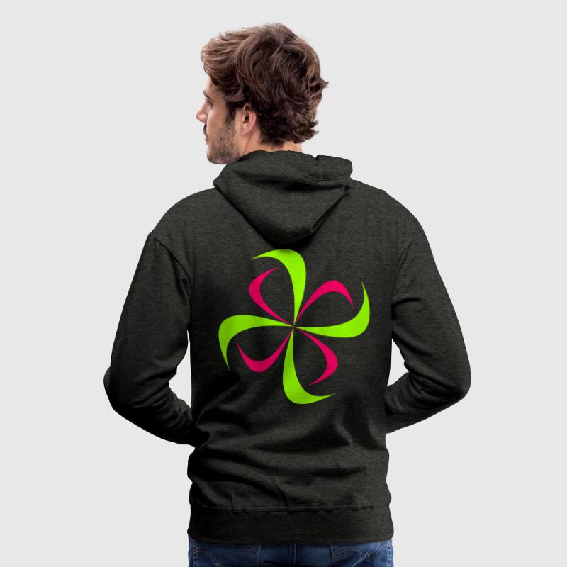 SPaCE-SHirT BlackLight-series Swastika - Männer Premium Hoodie
