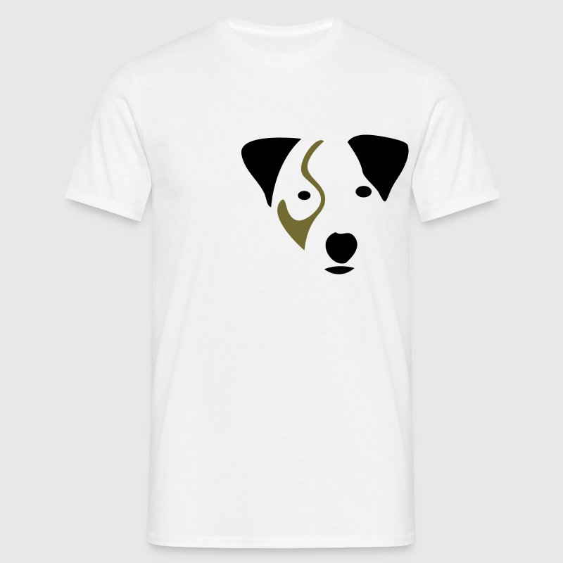 Blanc Hector - Jack Russell T-shirts - T-shirt Homme