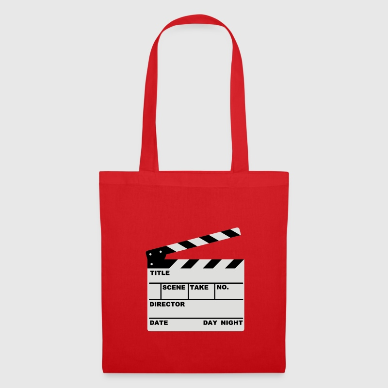clapperboard (writable flex) - Bolsa de tela