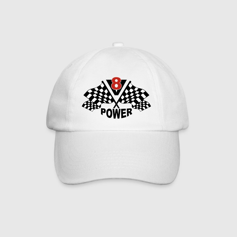 V8 Power - Baseballkappe