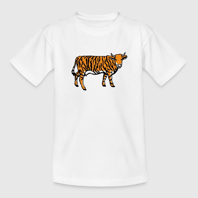 Tigerkuh - Teenager T-Shirt