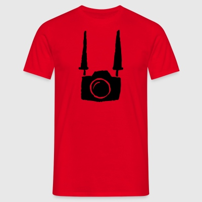 Camera - Mannen T-shirt