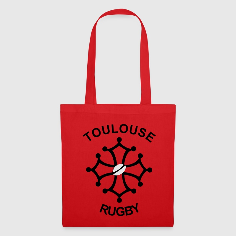 Rouge Toulouse Rugby Sacs - Tote Bag