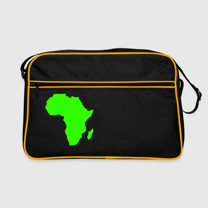 Africa, continent, Europe, Asia, America, South America, North America, Australia, north pole, South Pole, Arctic, Antarctic, Greenland, world, oldread, world ball, ocean, outlined, country, countries, geography  - Retro Bag