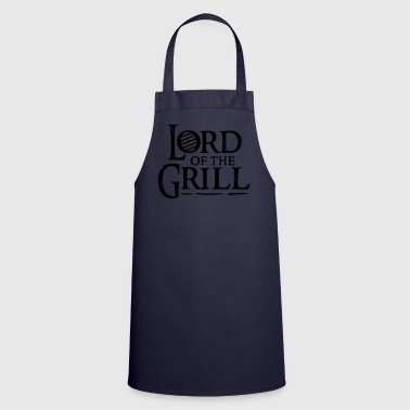 White lord of the grill  Aprons - Cooking Apron