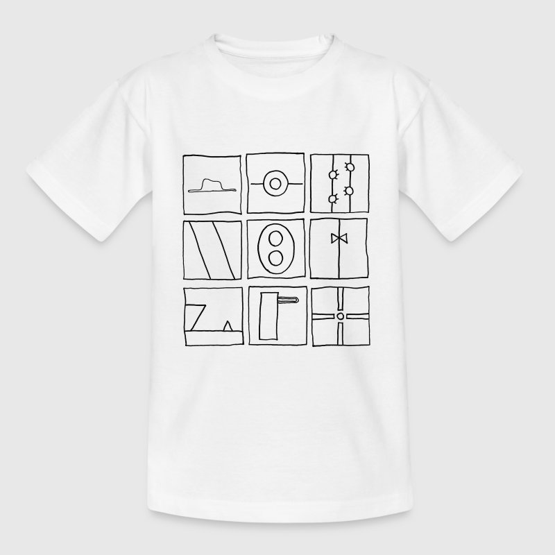 Droodle - Teenager-T-shirt