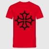 Occitan cross - Men's T-Shirt