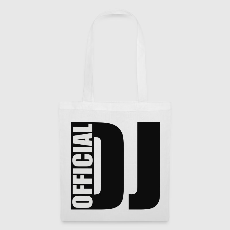 White official DJ Bags  - Tote Bag