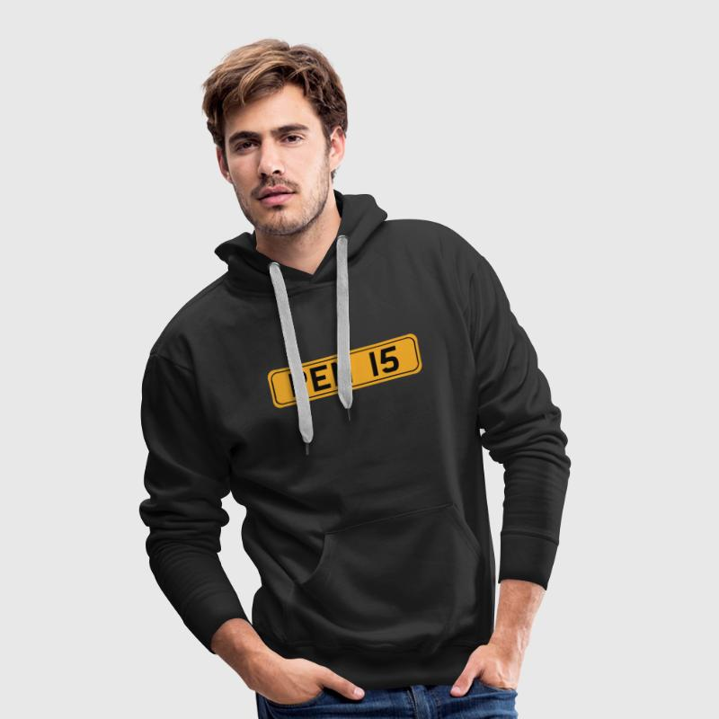 Black Penis Jumpers - Men's Premium Hoodie