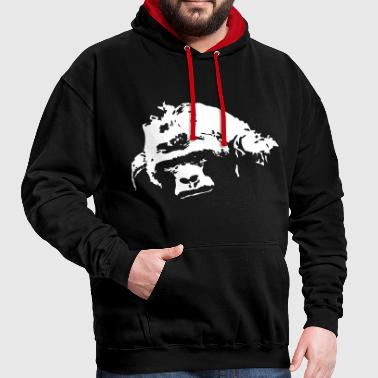 gorilla - Sweat-shirt contraste
