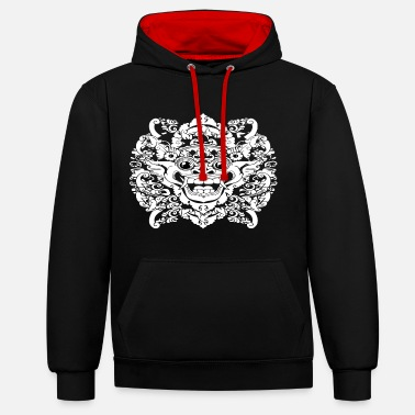 monters Barong - Sweat-shirt contraste