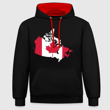 Canada - Sweat-shirt contraste