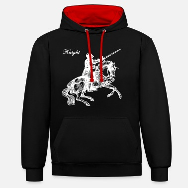 Knighthood Knight - Contrast Colour Hoodie