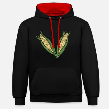 Cornes Corn! - Sweat-shirt contraste