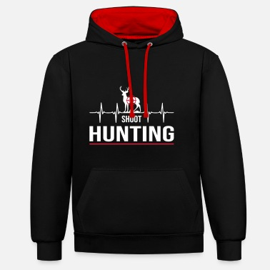 Hunting shoot hunting - Contrast Colour Hoodie