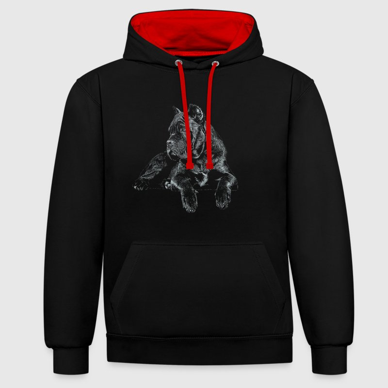 Cane Corso Italiano - Sweat-shirt contraste