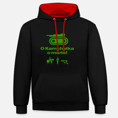 RisiKo O kamchatka of death - green - Contrast hoodie