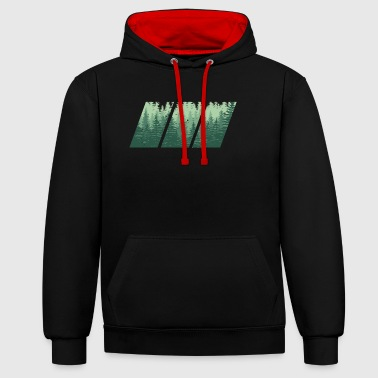 Hout hout - Contrast hoodie