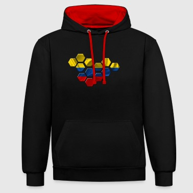 Colombie - Sweat-shirt contraste