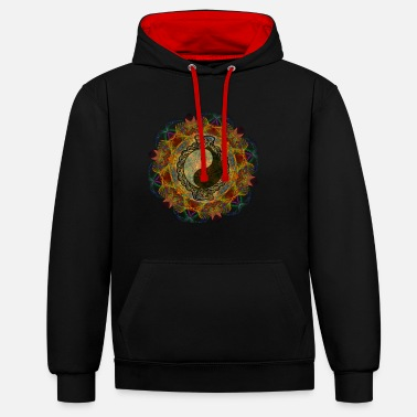 Obscure Fractal Claire Obscure - Contrast Colour Hoodie