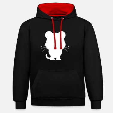Animation Animals Animals Animal Print Nature - Contrast Colour Hoodie