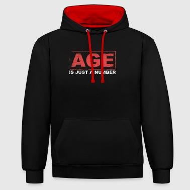 AGE - Contrast Colour Hoodie