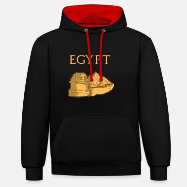 Egypt egypt - Contrast Colour Hoodie