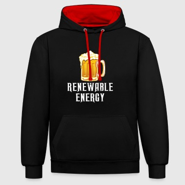 Renewable Energy - Contrast Colour Hoodie