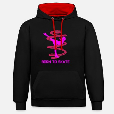 Patinage Patinage artistique - Sweat-shirt contraste