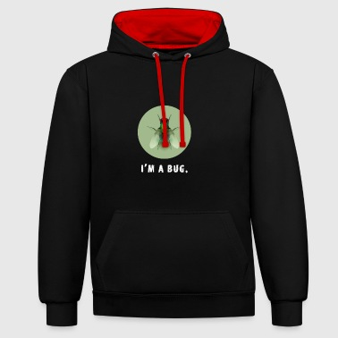 bug mouche voler erreur informatique nerd codeur Admin pc - Sweat-shirt contraste
