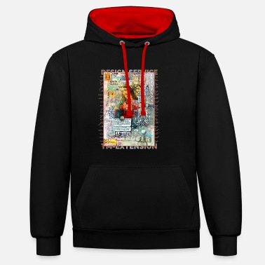 TM Design Jesus - Sweat-shirt contraste