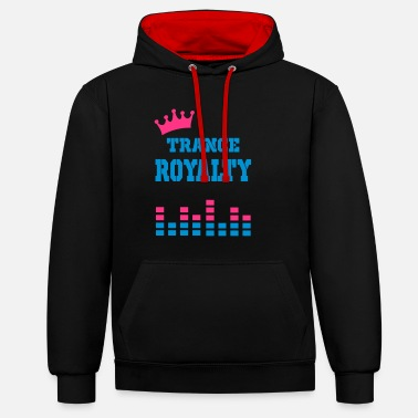 Redevance redevance trance - Sweat-shirt contraste