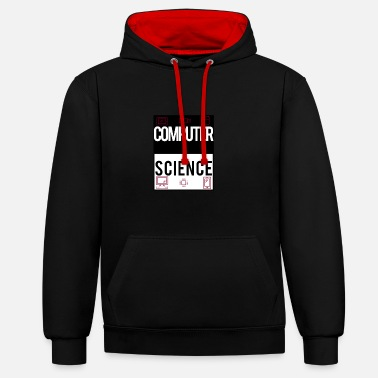 Science computer science - Contrast Colour Hoodie