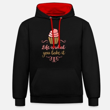 Baking Bake 2541614 133042339 - Contrast Colour Hoodie