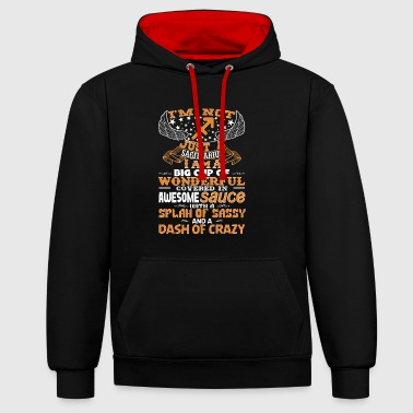 I'm not Just A Sagittarius! - Contrast Colour Hoodie