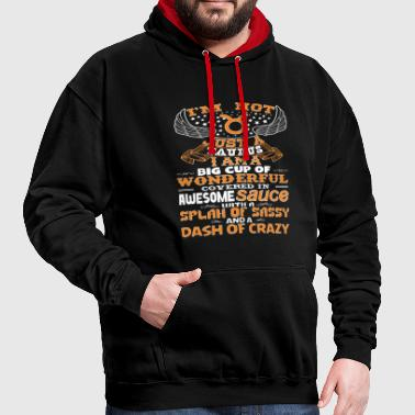 I'm not Just A Taurus! - Contrast Colour Hoodie