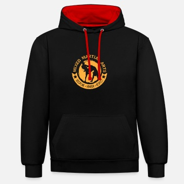 Mma MMA discipline - Contrast Colour Hoodie