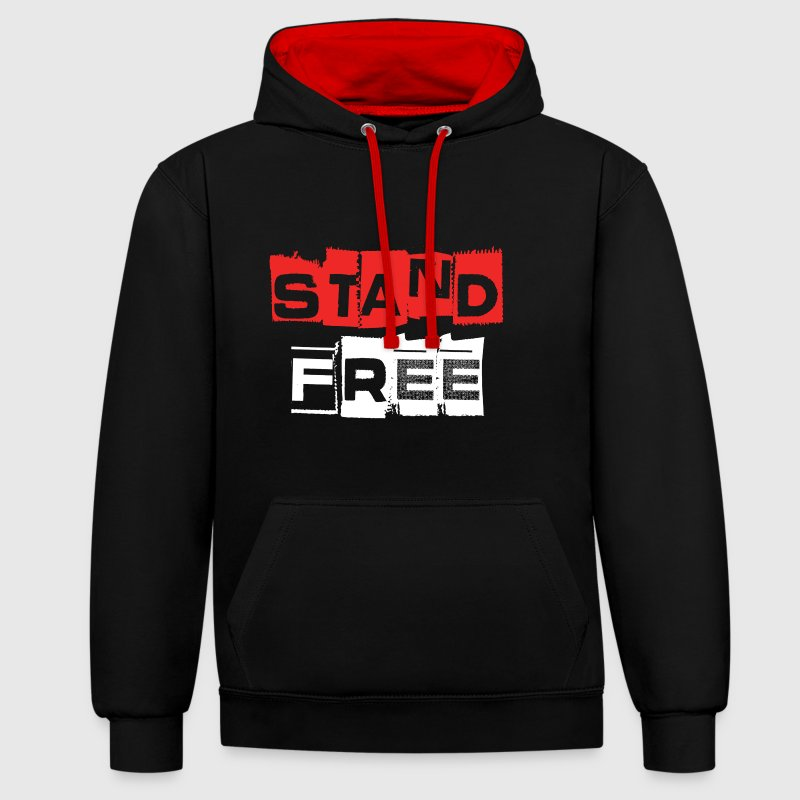 Aberdeen Stand Free - Contrast Colour Hoodie