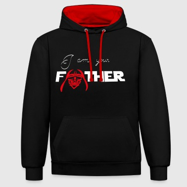 I am your father - Contrast Colour Hoodie