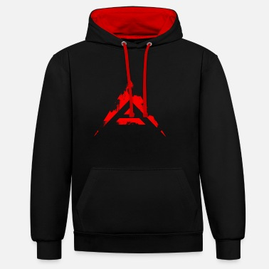 ARK.io Coin Crypto-valuta (Distressed Look) - Contrast hoodie