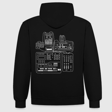 Hardware attack - Sweat-shirt contraste
