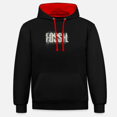Fossil fossil - Unisex Contrast Hoodie