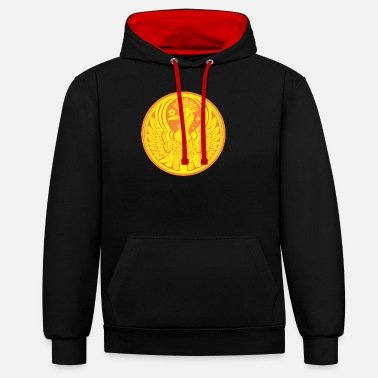 Coin Coin - Phoenix - Unisex contrast hoodie