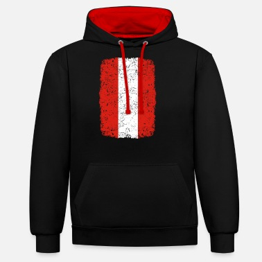 roots home country roots home Austria - Unisex Contrast Hoodie