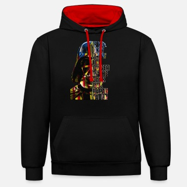 COSTAT OSCUR CATALA LLETRES - Unisex Contrast Hoodie