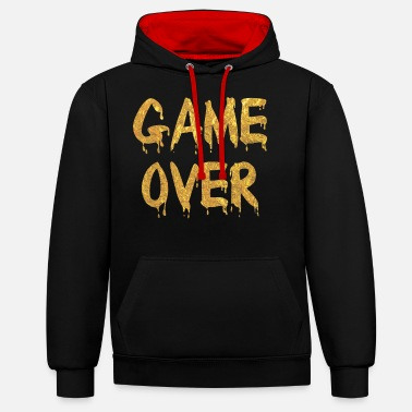 Game Over Game Over - Unisex Hoodie zweifarbig