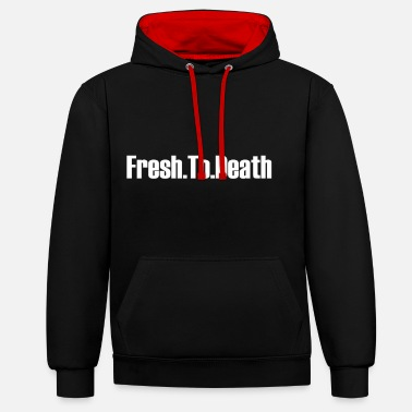 Fresh To Death - Unisex Contrast Hoodie
